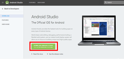 Install IDE Android Studio dan Package SDK