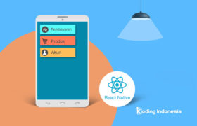 Stack dan tab navigator di react native
