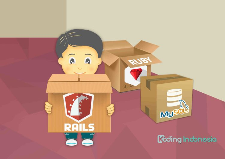 Setting Database MySQL Dengan Ruby on Rails di Windows