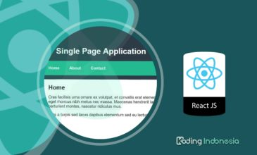 Single Page Application (SPA) dengan ReactJS