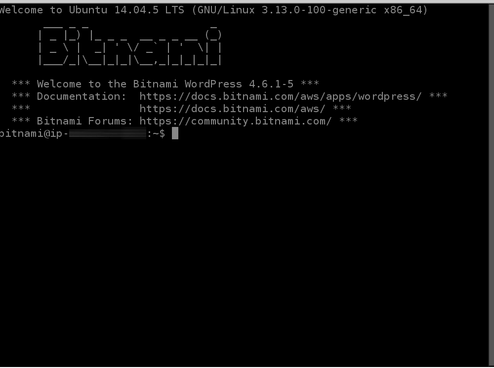 Connect using SSH