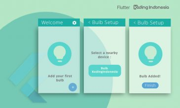 21. Flutter Effects - Membuat Nested Navigation Flow
